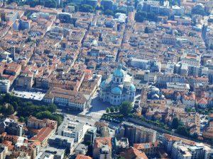 historic center Como